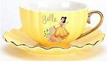 Disney Princess Cup & Saucer - Belle