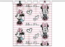 Disney Ready Made Curtain Minnie Mouse 140 x 160 cm