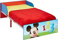 Disney Toddler Bed Mickey Mouse 143x77x43 cm Red