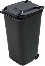 display08 Creative Mini Wheelie Trash Can Storage