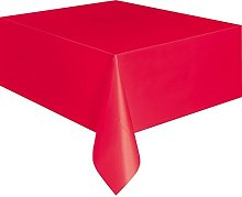 display08 Disposable Plastic Rectangle Table Cover