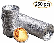 Disposable Aluminum Egg Tart Mould Tin Foil Cup -