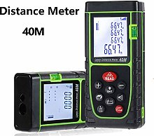 Distance Meter, MASO 40M IP54 Waterproof Handheld