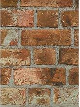 Distinctive Brick Sidewall 10m x 52cm Wallpaper
