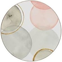 Distinctly Living - Circles Placemat Set of 4 -