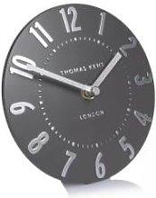 Distinctly Living - Mini Graphite Mantel Clock