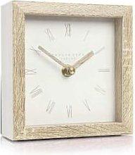 Distinctly Living - Mini Tofu Nordic Mantel Clock