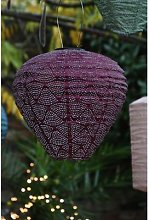 Distinctly Living - Purple Kazbar Balloon Lantern