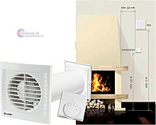 Distribute Warm Air One Room to Another Heat