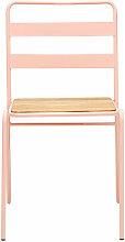 District Pink Metal Chair - Premier Housewares