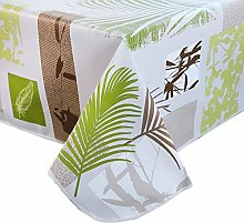 DITAO Rectangular PVC Tablecloth Soft Waterproof