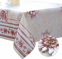 DITAO Wipe Clean Square Table Cloth Waterproof Oil