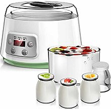 DIUDIU,Glass Liner/Greek Yogurt Maker, Automatic
