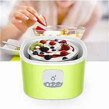 DIUDIU,Home Yogurt Maker with 4 Glasses + 1L
