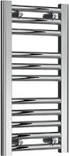 Diva Steel Straight Chrome Heated Towel Rail 600mm