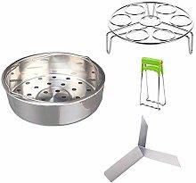 DIVISTAR Steamer Basket Rack Set - Vegetable