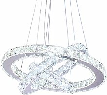 Dixun Crystal Chandelier Crystal LED Pendant With