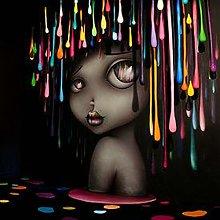 DIY 5D Diamond Painting Dreamy Big-Eyed Girl