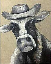 DIY 5D Diamond Painting Full Kits Fashion Cow