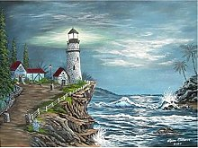 DIY 5D Diamond Painting Full Kits Lighthouse