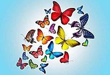 DIY 5D Diamond Painting Kit, Butterflies Crystal