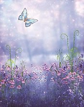 DIY 5D Diamond Painting Kits Butterfly Flowers