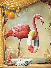 DIY 5D Diamond Painting Kits Flamingo Full Drill