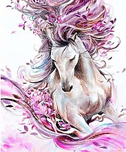 DIY 5D Diamond Painting Kits Horse Flower Full