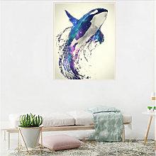 DIY 5D Diamond Painting S10120 Dolphin 40X30 Full