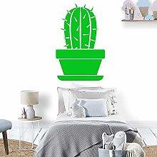 DIY Cactus Wall Sticker Self Adhesive Vinyl