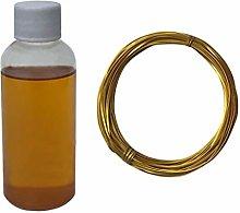 DIY Cloisonné Enamel Painting Kit Gold Wire