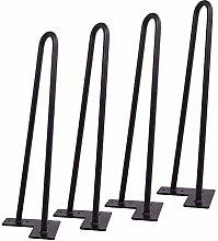 DIY Heavy Duty Metal Desk Legs,Hairpin Legs – 4