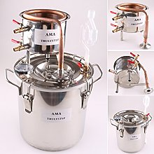 DIY Home Distiller Moonshine Still Stainless