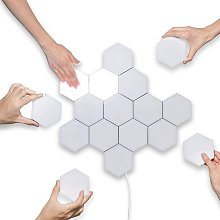 DIY Lights, Touch Hexagonal Wall Lamp Sensitive to