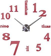 DIY Modern Quartz Needle Acrylic Watches Big Wall