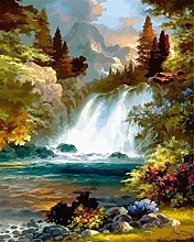 DIY Oil Painting Kits Acrylics Canvas Painting