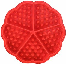 DIY Silicone Cup Waffle Muffin Trays Silicone Cake