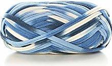 DIY T-Shirt Yarn Bulky Fabric Yarn Spaghetti Yarn