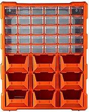 DIY Tool Bits Plastic Storage Organiser Units -