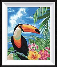 DIY-Toucan New Paint by Numbers for Adults