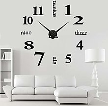DIY Wall Clock Funky Modern Mute Wall Clock Stick