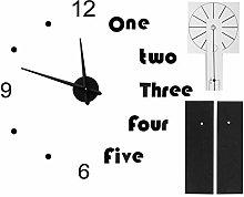 Diy Wall Clock, Wall Clock Stickers, Durable Easy