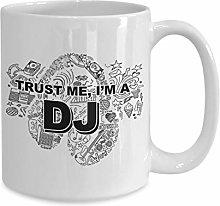 Dj Coffee Mug Mug for dj Gift for disc Jockey Gift