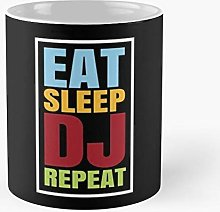 Dj Discjockey Vinyl Mixer Cd Techno Festival Band