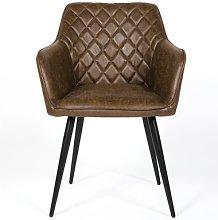 Django Upholstered Dining Chair (Set of 2) Borough