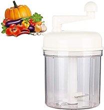 DJDLLZY Vegetable Slicer,Manual Food Chopper for