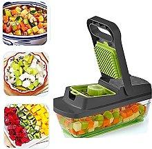 DJDLLZY Vegetable Slicer,Vegetable Chopper Veggie