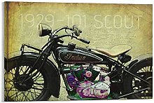 DJNGN 1929 101 Scout Canvas Art Poster and Wall
