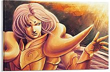 DJNGN Aries Mû Canvas Art Poster and Wall Art