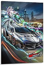 DJNGN CarsRT11 Canvas Art Poster and Wall Art
